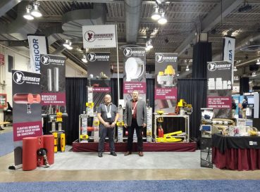 Hawkeye sales team at GPS tradeshow 2019